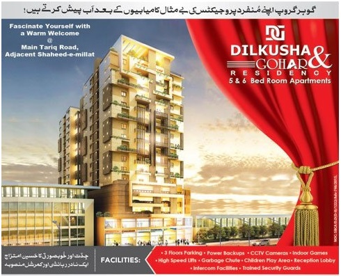 Dilkusha & Gohar Residency Karachi