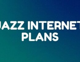 Jazz daily, weekly and monthly internet offers