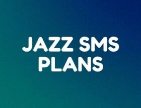Jazz daily, weekly, monthly SMS plans